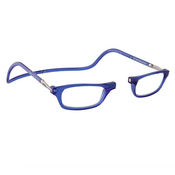 Clic leesbril blauw 1